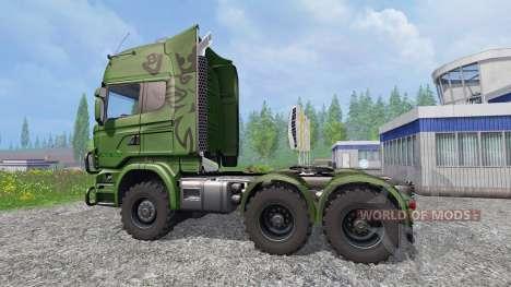 Scania R730 [euro farm] v0.9.5 para Farming Simulator 2015