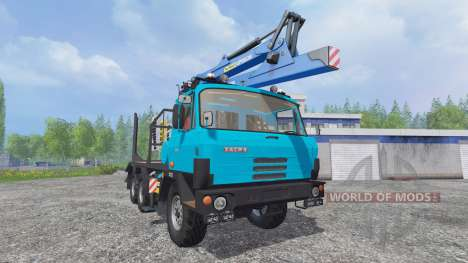 Tatra T815 [forest] para Farming Simulator 2015
