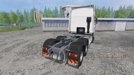 DAF XF105 v0.9 para Farming Simulator 2015