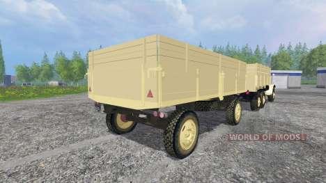 ZIL-157 [GKB-817] para Farming Simulator 2015