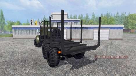 KrAZ-255 B1 [de madera] para Farming Simulator 2015