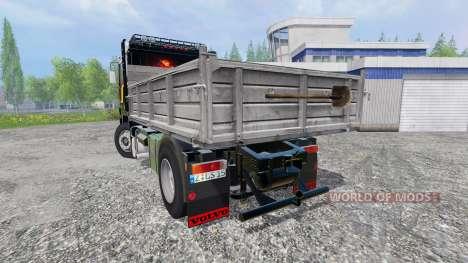Volvo F12 [kipper] para Farming Simulator 2015