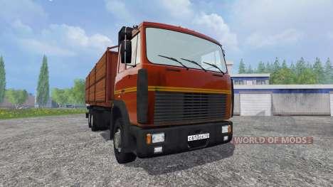 MAZ-6303 [tráiler] para Farming Simulator 2015