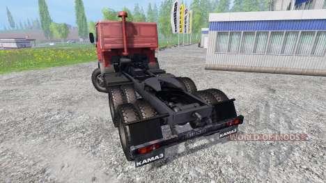 KamAZ 5410 v1.0 para Farming Simulator 2015