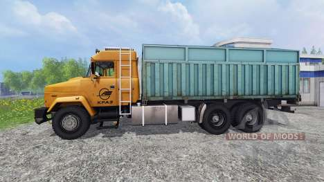 KrAZ-64431 [dump truck] para Farming Simulator 2015