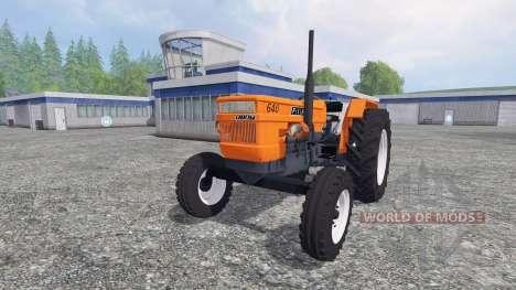 Fiat 640 para Farming Simulator 2015