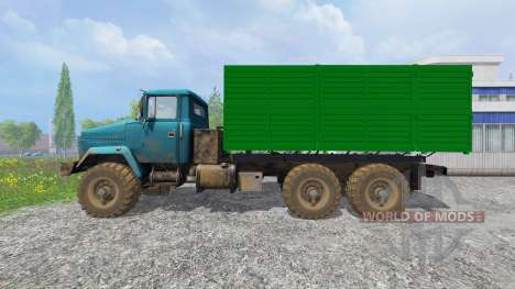 El KrAZ-6322 v1.2 para Farming Simulator 2015
