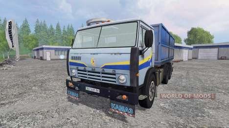 KamAZ 5320 v2.0 para Farming Simulator 2015