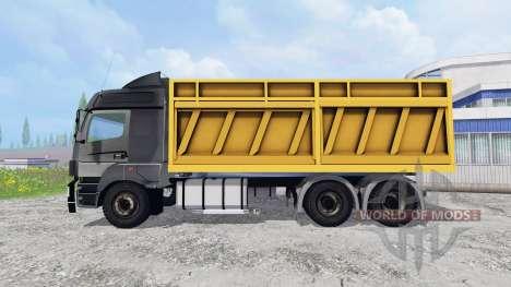 KamAZ-5490 [dump truck] para Farming Simulator 2015