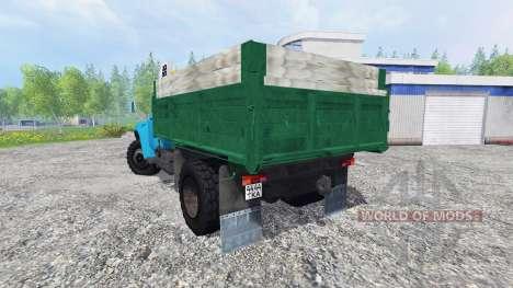 ZIL-130 [azul] para Farming Simulator 2015