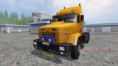 KrAZ-64431 v2.0 para Farming Simulator 2015