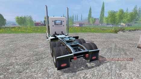 Peterbilt 379 [daycab] para Farming Simulator 2015