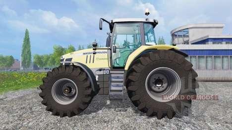 Massey Ferguson 7726 [Krone] para Farming Simulator 2015