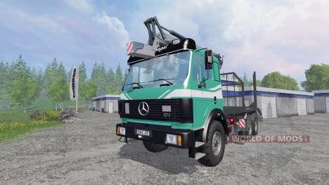 Mercedes-Benz SK 1935 [forest] v1.2 para Farming Simulator 2015