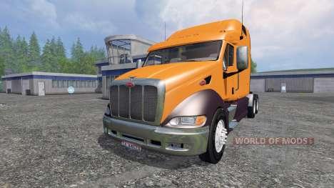Peterbilt 387 v2.0 para Farming Simulator 2015