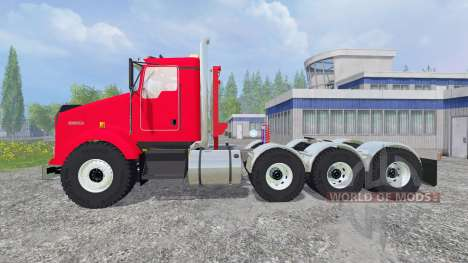 Kenworth T800 v2.0 para Farming Simulator 2015
