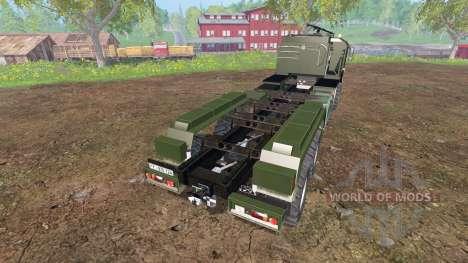 MAN KAT2 [agricultural] v2.0 para Farming Simulator 2015