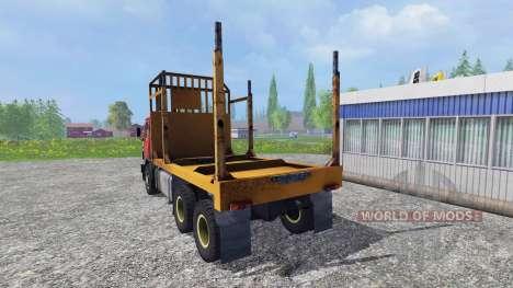 KamAZ 55102 [Forester] para Farming Simulator 2015