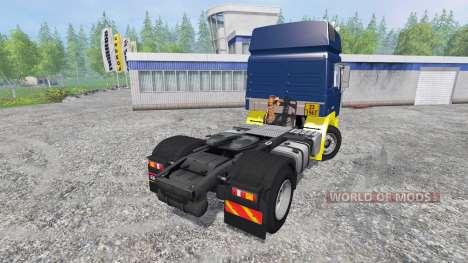 MAN F2000 19.414 [blue edition] para Farming Simulator 2015