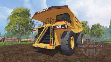 Caterpillar 797B para Farming Simulator 2015