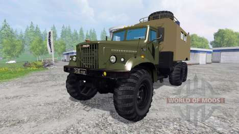 KrAZ-255 B1 [kung] para Farming Simulator 2015