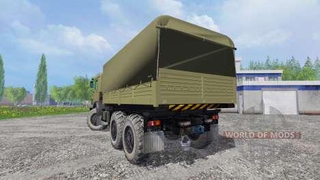 KamAZ-43114 para Farming Simulator 2015