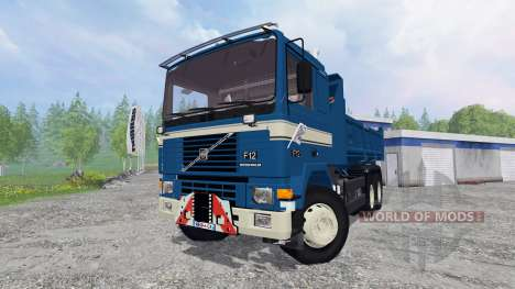 Volvo F12 6x4 [tipper] v1.9 para Farming Simulator 2015