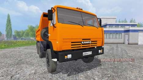 KamAZ 55111 1996 para Farming Simulator 2015