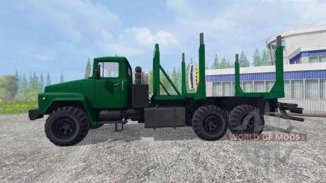 KrAZ-260 [de madera] para Farming Simulator 2015