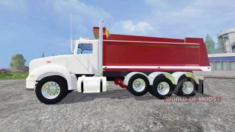 Peterbilt 384 [dump] v5.0 para Farming Simulator 2015