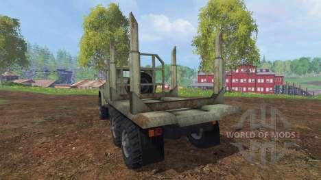ZIL-131 [de madera] para Farming Simulator 2015