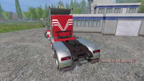 Kenworth W900 v2.0 para Farming Simulator 2015