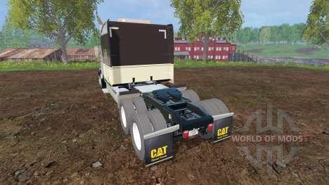 Peterbilt 388 [aluminum wheels] para Farming Simulator 2015