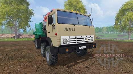 KamAZ-6350 [JENZ] para Farming Simulator 2015
