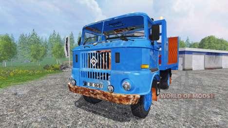 IFA W50 [tow truck] para Farming Simulator 2015