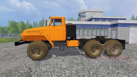 Ural-4320 [tractor] v3.0 para Farming Simulator 2015