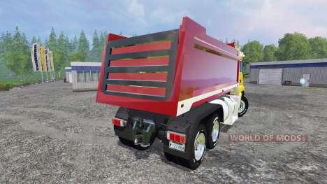 MAN TGS 18.440 [dump] para Farming Simulator 2015