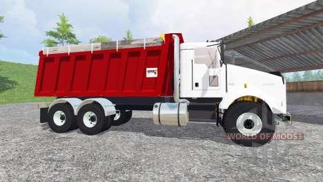 Kenworth T800 [dump] v2.0 para Farming Simulator 2015