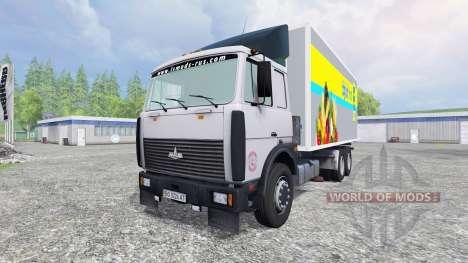 MAZ-6303 para Farming Simulator 2015