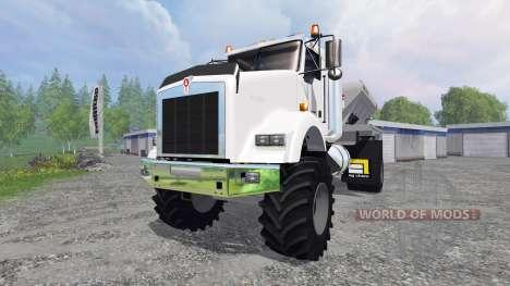 Kenworth T800 [spreader] para Farming Simulator 2015