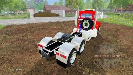 Peterbilt 384 v3.0 para Farming Simulator 2015