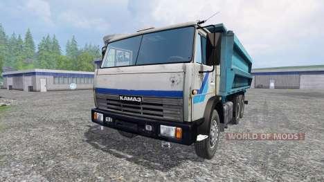 KamAZ-45143 v1.1 para Farming Simulator 2015