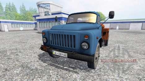 GAZ-53 [combustible] v2.0 para Farming Simulator 2015
