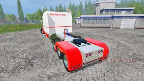 Peterbilt 359 [long haul] para Farming Simulator 2015