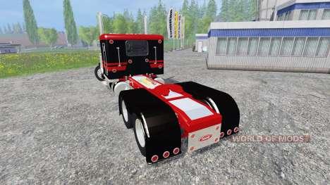 Peterbilt 379 [flat top] para Farming Simulator 2015