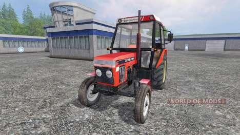 Zetor 7211 v1.0 para Farming Simulator 2015