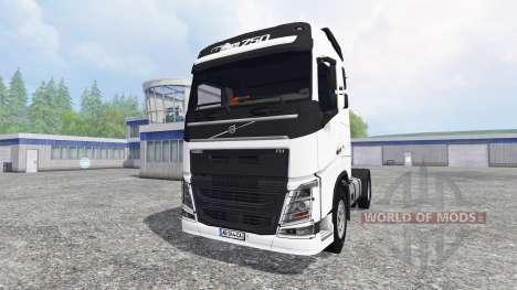 Volvo FH16 750 v3.1 para Farming Simulator 2015