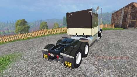 Peterbilt 388 [fixed] para Farming Simulator 2015