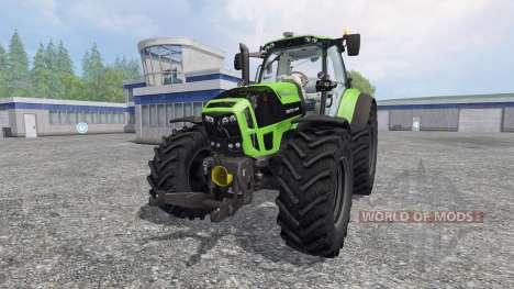 Deutz-Fahr Agrotron 7210 TTV v4.0 para Farming Simulator 2015