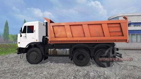 KamAZ 55111 2007 v1.0 para Farming Simulator 2015